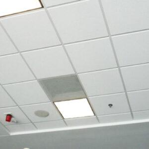 Кассетный потолок Белый Матовый 600x600мм
