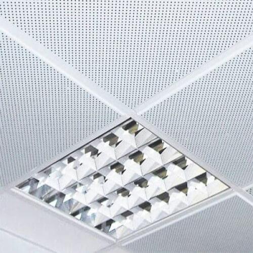 Кассетный потолок перфорированный 600x600мм