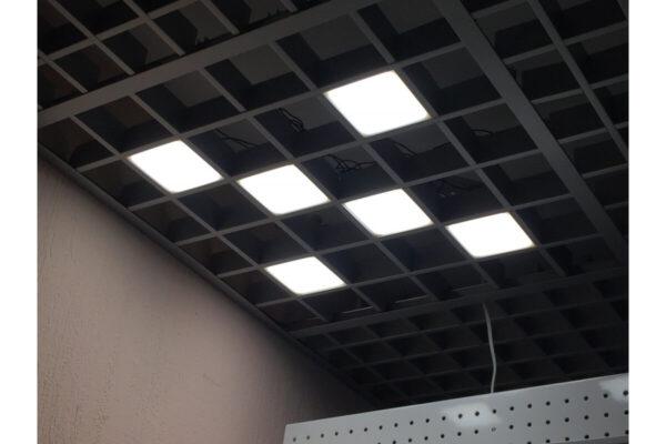 Потолочный светильник Грильято 100x100мм