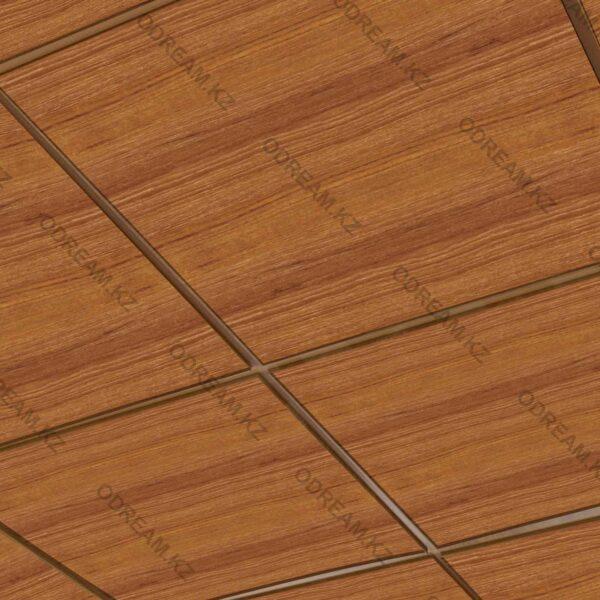 Кассетный потолок Под Дерево Светлый